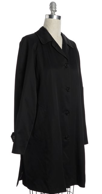 BURBERRY LONDON Black Button Down Jacket