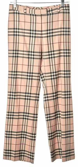 BURBERRY LONDON Multi-color Wool Trousers Pants