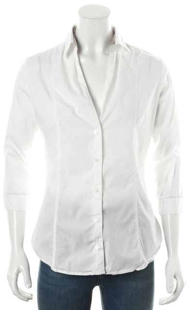 BURBERRY LONDON White Button Down Shirt