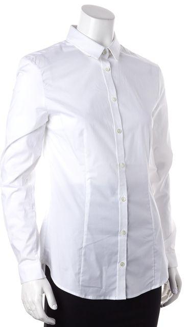 BURBERRY LONDON White Button Down Shirt