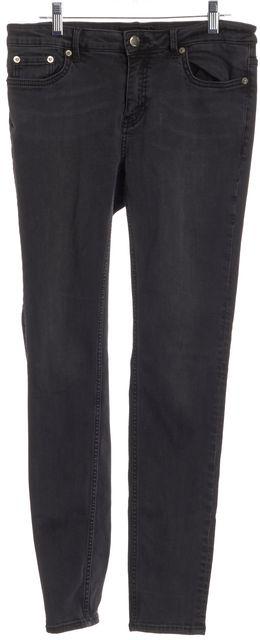 BLK DNM Gray Skinny Jeans