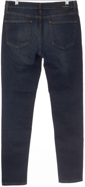 BLK DNM Dark Wash Sutter Blue Skinny Jeans