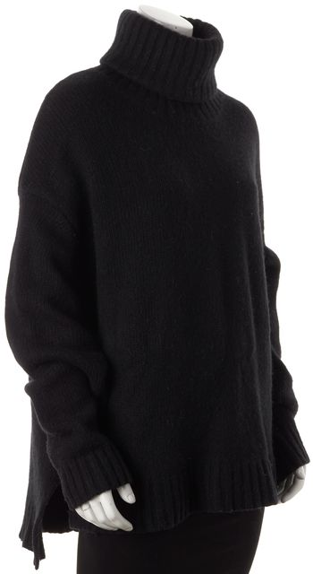 BLK DNM Black Long Sleeve Turtleneck Sweater