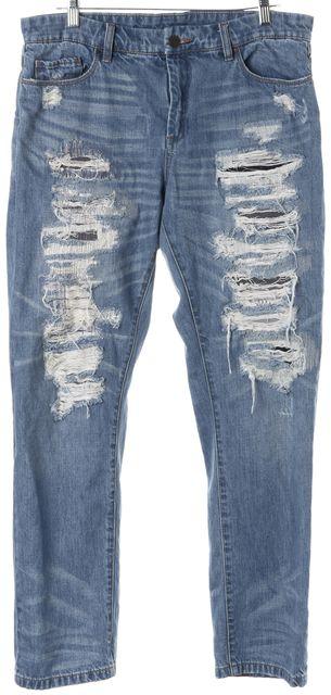 BLANKNYC Blue Distressed Boyfriend Jeans