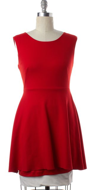 BAILEY 44 Red Sleeveless Fit & Flare Dress