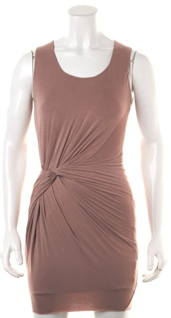 BAILEY 44 Puce Ruche Stretch Dress