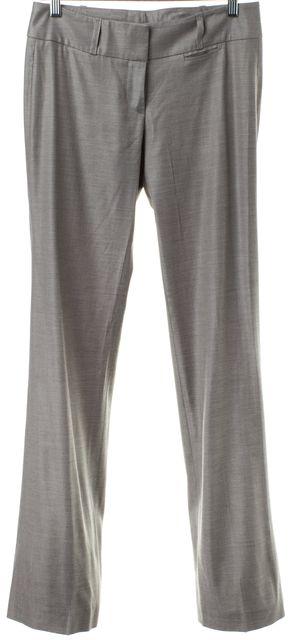 BOSS HUGO BOSS Gray Wool Trouser Pants