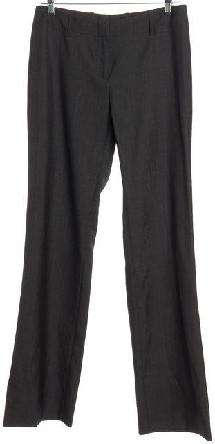 BOSS HUGO BOSS Dark Gray Wool Dress Pants