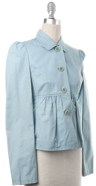 BOSS HUGO BOSS BOSS HUGO Aqua Blue Three Button Basic Jacket