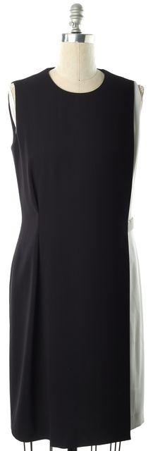 BOSS HUGO BOSS Black White Sheath Dress