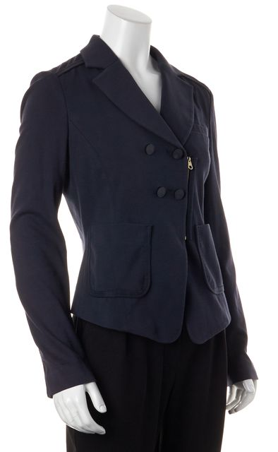 BOSS HUGO BOSS Navy Zip-Up Basic Jacket
