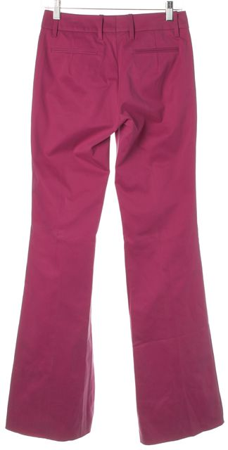 BOSS HUGO BOSS Pink Flared Pleated Trouser Dress Pants