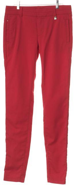 BOSS HUGO BOSS Red Casual Pants