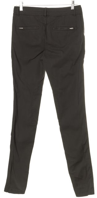 BOSS HUGO BOSS Black Distressed Zip Pocket Chinos Pants
