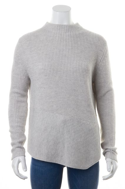 BOSS HUGO BOSS Gray Mock Sweater