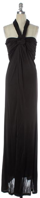 BOSS HUGO BOSS Black Halter Maxi Dress