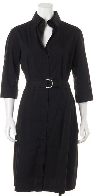 BOSS HUGO BOSS Black Belted Sheath Dress
