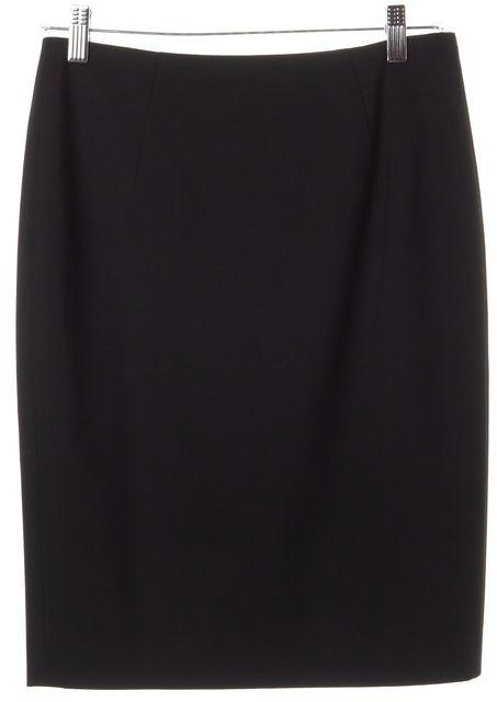 BOSS HUGO BOSS Black Knee Length Pencil Skirt