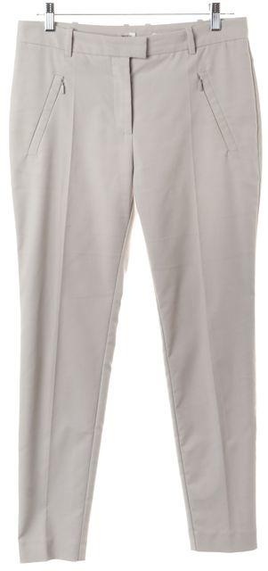 BOSS HUGO BOSS Gray Anaita Pleated Trouser Dress Pants