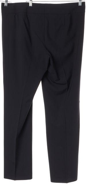BOSS HUGO BOSS Navy Blue Wool Tuliana Trousers Pants