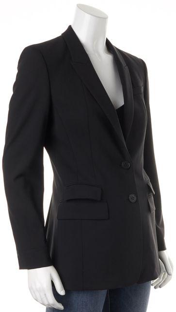 BOSS HUGO BOSS Black Wool Double Button Julcyra Blazer