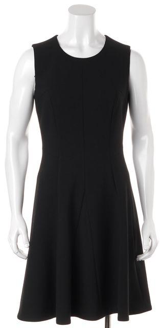 BOSS HUGO BOSS Black Fit Flare Dress