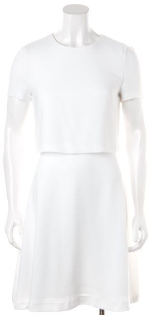 BOSS HUGO BOSS White Sheath Dress