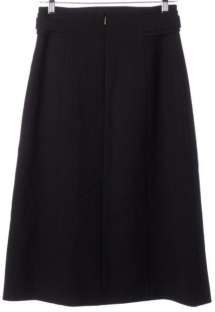 BOSS HUGO BOSS Black Belted Vapila A-Line Skirt