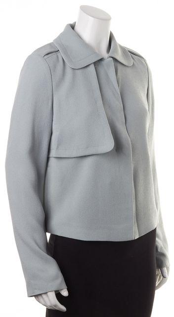 BOSS HUGO BOSS Seafoam Green Jexina Button Up Basic Jacket