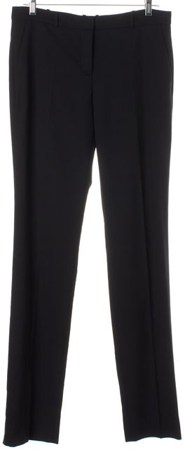 BOSS HUGO BOSS Black Wool Tagani Trouser Dress Pants