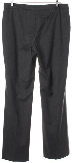 BOSS HUGO BOSS Gray Plaid Wool Tulea Trouser Dress Pants