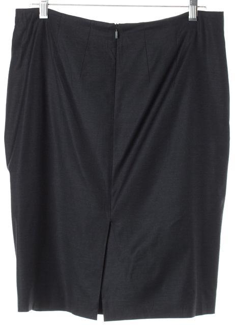 BOSS HUGO BOSS Navy Blue Above Knee Verla Pencil Skirt