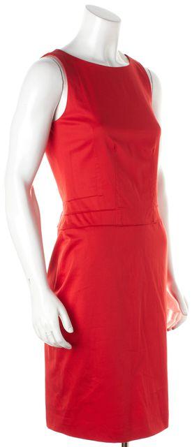 BOSS HUGO BOSS Red Sheath Dress