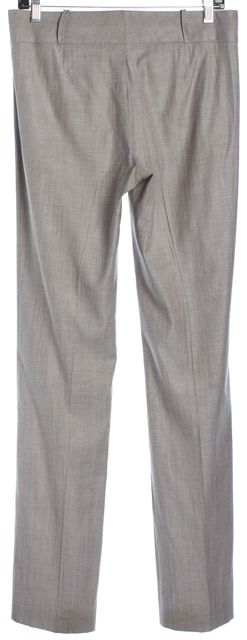 BOSS HUGO BOSS Beige Slim Straight Leg Lightweight Dress Pants