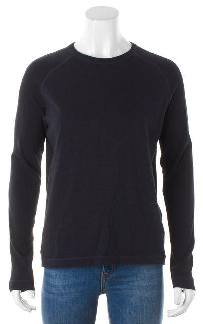 BOSS HUGO BOSS Black Slim Fit Knit Sleeved Knit Top