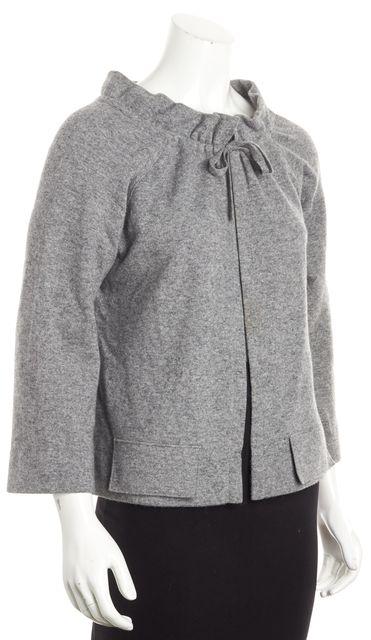 BOSS HUGO BOSS Gray Cardigan Sweater