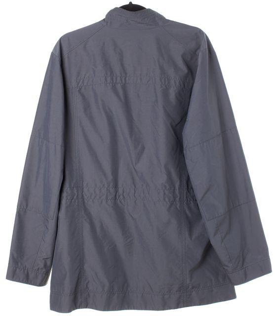 BOSS HUGO BOSS Gray Corban 5 Pocket Button Down Windbreaker Jacket