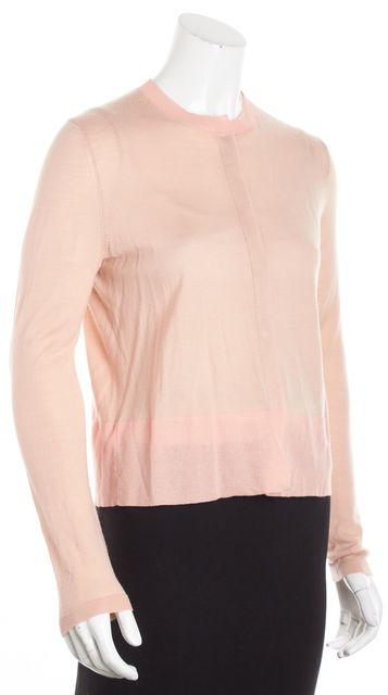 BOSS HUGO BOSS Pink Colorblock Long Sleeve Cardigan Sweater