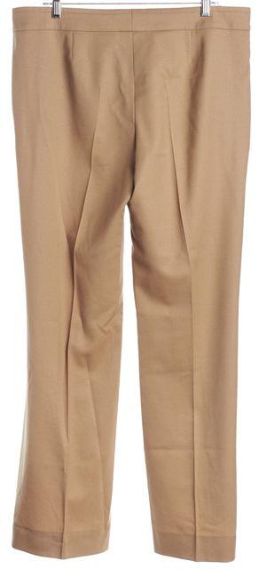 BOSS HUGO BOSS Brown Wool Trousers Pants