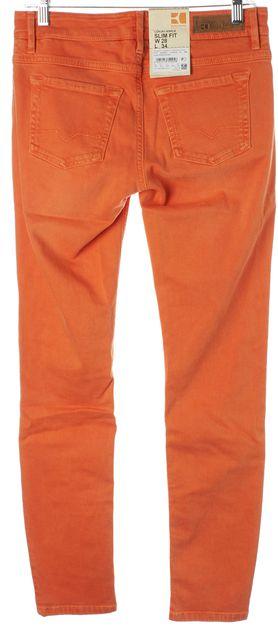 BOSS ORANGE Stretch Denim Ankle Slim Fit Jeans