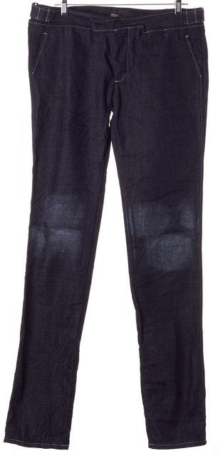 BOTTEGA VENETA Blue Straight Leg Jeans