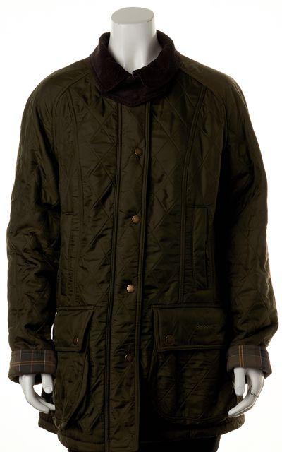 BARBOUR Forest Green Polarquilt Jacket