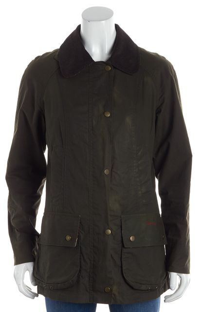 BARBOUR Green Military Basic Jacket