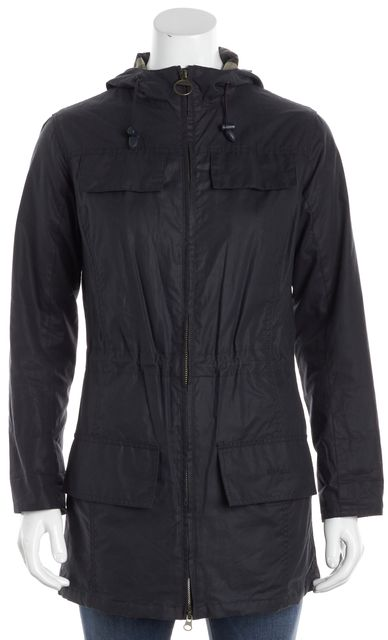BARBOUR Blue Utility Jacket