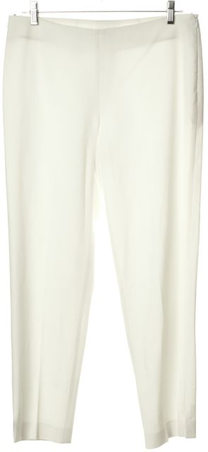 BRUNELLO CUCINELLI White Skinny Ankle Dress Pants