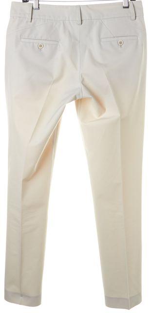BRUNELLO CUCINELLI Beige Pleated Trouser Dress Pants