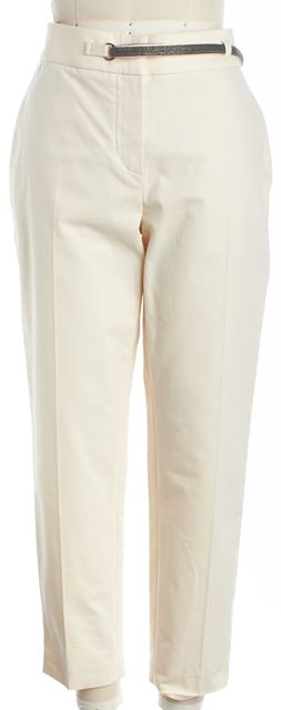 BRUNELLO CUCINELLI Ivory Trousers Pants