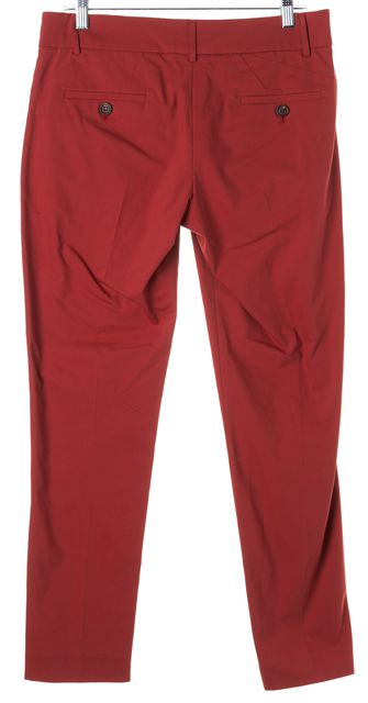 BRUNELLO CUCINELLI Red Slim Fitted Trouser Pants