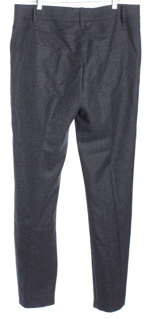 BRUNELLO CUCINELLI Gray Wool Dress Pants