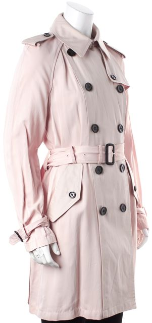 COACH Peach Pink Trench Coat